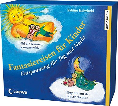 Fantasiereisen für Kinder. Entspannung für Tag und Nacht, 2 CDs