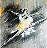Kunst & Ambiente Bailarina II-Martin pequeño-Acrílico-Bailarina de-Danza de-Bailarina de paddelsurf-Prima Ballerina-balett Gemälde Sobre Lienzo-Arte Moderno Online Comprar