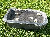 Vogeltränke aus Granit Nr. 6 | Vogelbad aus Naturstein | Unikat | Handarbeit !