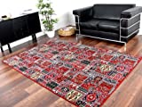 Orient Teppich Empire Rot in 24 Größen, Größe:200x300 cm
