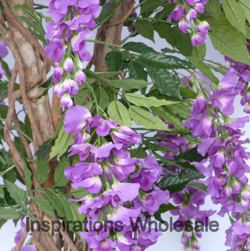 4ft Purple Wisteria Tree - Luxury Artificial Tree by Olore Home