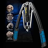 Dedeka Arm Oefeningen, Arm Machine Workout Systeem, 4 In 1 Power Twister Borst Expander Verstelbare Sterkte Trainer Pull Exer