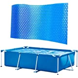 Zwembad Solar Cover, Frame Pool Cover, Rechthoekige Zwembad Cover voor Indoor Outdoor Frame Pool Pool Pool
