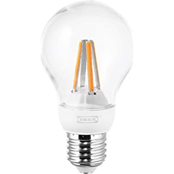 IKEA LEDARE E27 - Bombilla de globo LED de 600 lúmenes, intensidad regulable