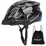 Casco de bicicleta, casco de bicicleta con visera solar para hombre y mujer jóvenes para BMX, monopatín, MTB, bicicleta de ca