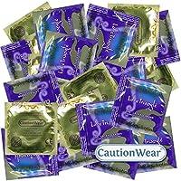 CautionWear Love Triangle - 50 Passform-Kondome, gerippt und genoppt für intensive Gefühle preisvergleich bei billige-tabletten.eu