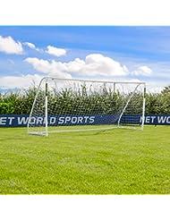 FORZA - 4,9 x 2,1 m wetterfestes Match Fußballtor, 1 Jahr Garantie [Net World Sports]