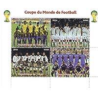 Coppa del Mondo di calcio francobolli per collezionisti - 4