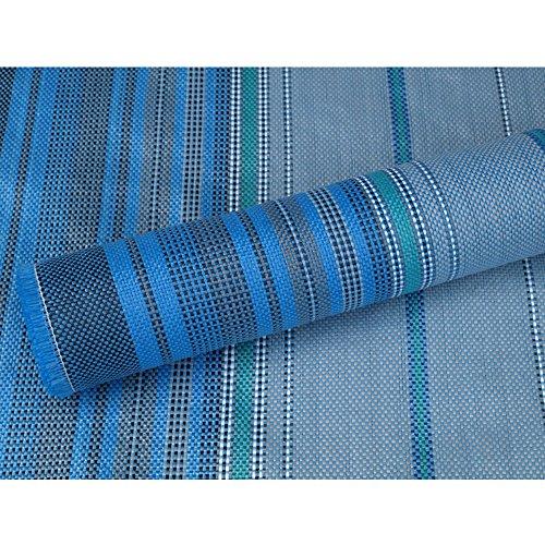 Vorzeltteppich Hellblau 250x200 cm, waschbar, schimmelfrei, farbecht • Hell-Blau Zeltteppich Campingteppich Zeltboden Vorzelt