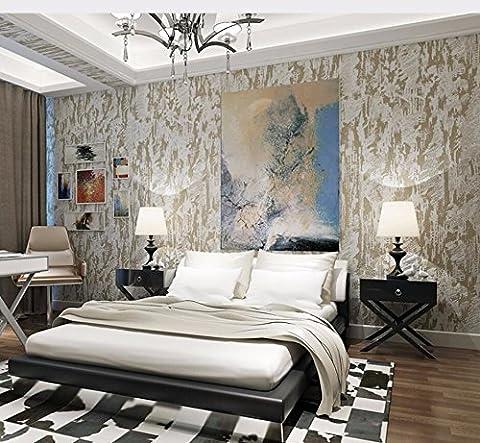 3D Stereo Wallpaper Mottle Texture Diatomite Nai Flocking Non-Woven For Living Room Bedroom Restaurant Walkways ,8116