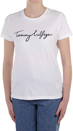 Tommy Hilfiger Heritage Crew Neck Graphic Tee Maglietta Donna
