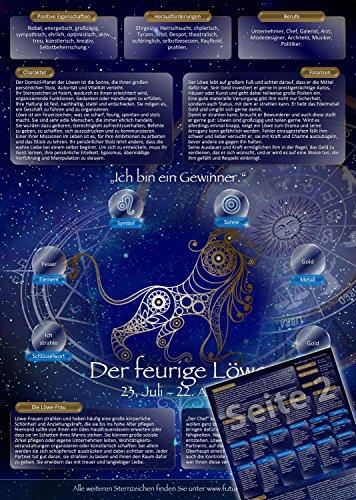 Sternzeichen Löwe - Die Horoskop- und Charakter-Karte für Liebe, Partnerschaft, Beruf, Finanzen und Gesundheit: Die psychologische Astrologie von...