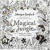 Livre de coloriage anti-stress, dim. 25x25 cm, 80 pages, Jungle magique, 1pièce