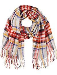 Womens British Pop Check Scarf, Multicoloured, One Size (Manufacturer Size: One) Dorothy Perkins