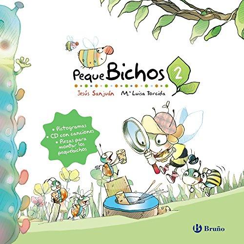 Pequebichos 2 (Castellano - A Partir De 3 Años - Cuentos - Cuentos Cortos) por Jesús Sanjuán Cantero