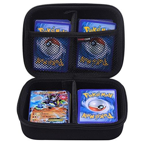 Hard Case Tragetasche Hülle für Pokémon-Sammelkarten. Passend für bis zu 360 Karten. Enthält 2 Herausnehmbare Trennwände. Von Comecase (Pokemon Geschenk-karte)