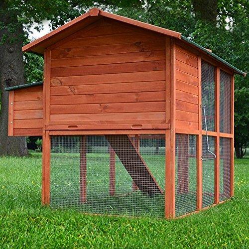 Premium Hühnerhaus Hühnervoliere , Hühnerstall , Hühnerhaus , Hühnerfarm , Entenstall - 5