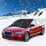Windschutzscheibe für Schnee und Eis Frostschutz-Wischer-Visier-Schutz Winddichter automatischer Sonnenschutz für Auto Minivan und SUV mit Magnet