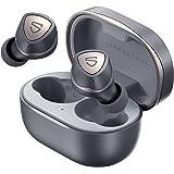 SOUNDPEATS Sonic Auriculares Bluetooth V5.2, Auriculares Inalámbricos QCC3040 APTX-Adaptive CVC8.0 IPX5 Auriculares Deportivo