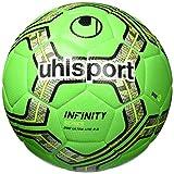 uhlsport Infinity 290 Ultra Lite 2.0 Fußball Ball, Fluo grün/Marine/Schwarz, 5
