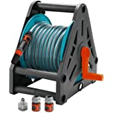 Gardena 2687-20 Hose Support with 15 m of 13 mm Hose Hose with Lance and 3 Fittings