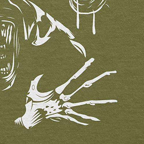 Texlab–The Extraterrestrial Queen–sacchetto di stoffa Oliva