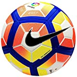 #7: Nike Replica 2016-17 Strike Laliga Soccer Ball Football SC2984-100 -White Orange, Size 4