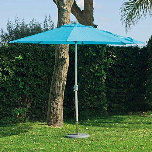 HEVEA Jardin Parasol CEN30 Aluminium Diam 300cm avec Toile en textilene