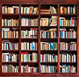 5x7ft Vinyl Digital Bookshelf Study Room Library Books Wall Photography Studio Backdrop Background