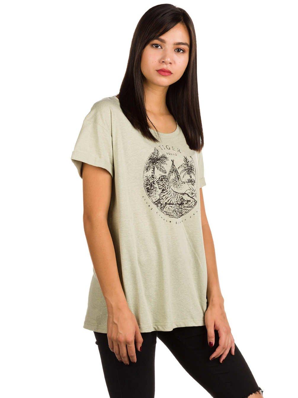 Roxy Alex Palm Tiger Squad – Camiseta para Mujer ERJZT04049