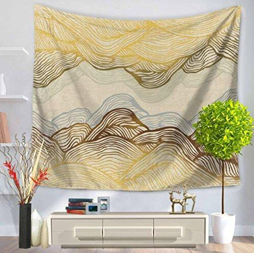 LNPP Bunte Linie Dekor Textilien Indische Hippie Tapisserie B?hmen Mandala Wand H?ngende Wand Dekor , F , 150*200