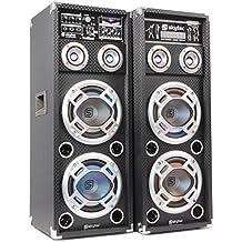 Skytec KA-28 - Kit bafle karaoke con luces