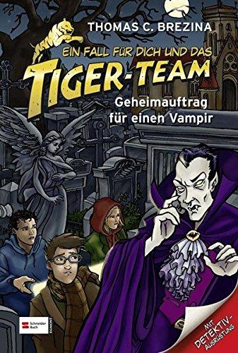 Ein Fall für dich und das Tiger-Team, Band 27: Geheimauftrag für einen - 8 Jahre Alten Vampir Kostüm