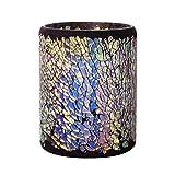 Velas llevado con el temporizador, con pilas, 7.6x15.2 cm, multicolor, de decoración para el hogar (15.2*10.2cm)