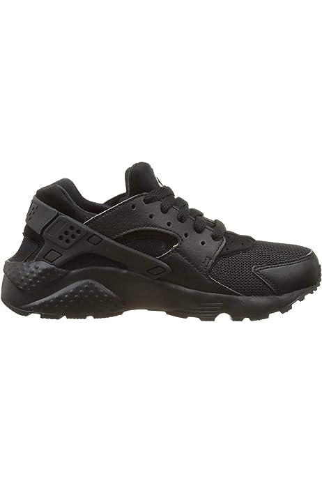 Nike Huarache Run (GS), Zapatillas Unisex Niños, Negro (Black ...