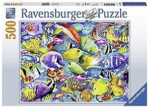 Ravensburger - Puzzle 500 Piezas, Peces Tropicales (14796)
