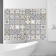 Vinilos cocina azulejos - Papel pintado para banos sobre azulejos ...