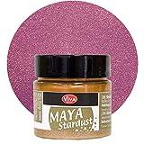 Maya Stardust 45ml (Magenta) - - - Glanz-Farbe, Metallic-Farben, Acryl-Metallic, Metallica-Farben, Acryl Beton-Farbe, wetterfest von Viva-Decor