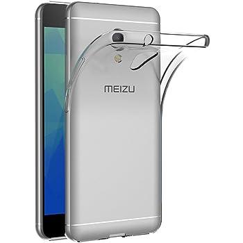 Cover Meizu M5S, AICEK Cover Meizu M5S Silicone Case Molle di TPU Trasparente Sottile Custodia per Meizu M5S
