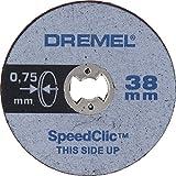 DREMEL® EZ SpeedClic: Dünne Präzisionstrennscheiben im 5er-Pack.