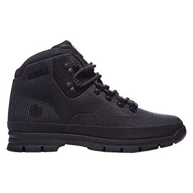 timberland euro hiker - bottines - black