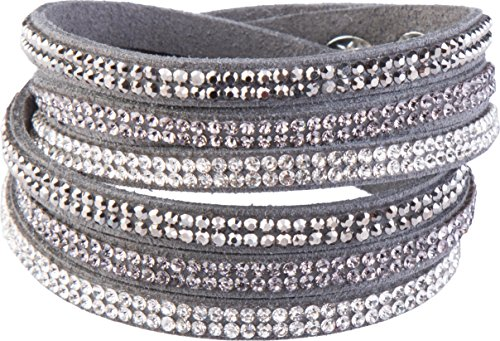 Crystal-Line Goldline - COMBINATION 4 YOU JEWELRY Armbänder Wickelarmband (Nr.2) -