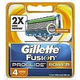 Gillette Fusion Men's ProGlide Power Razor Blades – 4 Blades