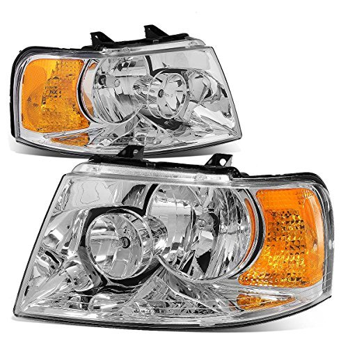 ford-expedition-u222-pair-of-oe-style-chrome-housing-amber-corner-headlight-by-auto-dynasty