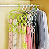 House of Quirk 12 Circles Scarf Holder T...