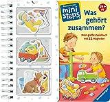 RAVENSBURGER 04094 - Mini Steps - Was gehört zusammen? Mit 22 Magneten