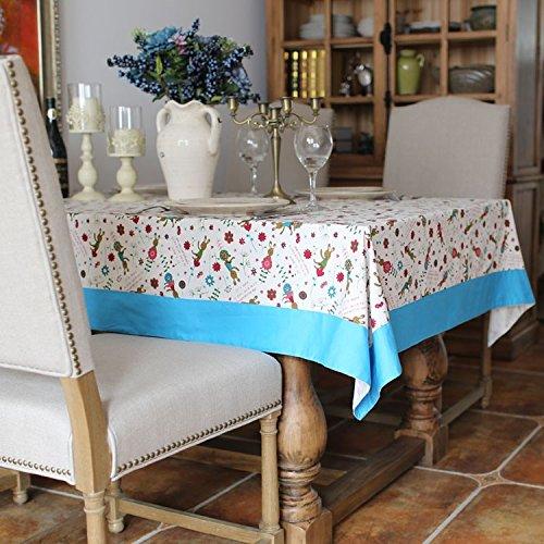 90 Quadratische 90 Bettwäsche Tischdecke X (XMMLL Weihnachtsgeschenk Bettwäsche Rechteck Stoff Tischdecke für Speisen Wasserdicht 90 X 140 Cm)