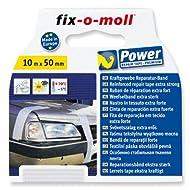 fix-o-moll Power-Band premium 10 m x 50 mm selbstklebend weiß, 3563093