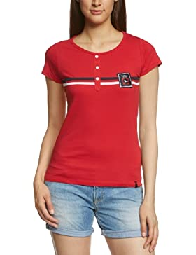 2117 of Sweden T-Shirt Marine - Camiseta, color rojo, talla XS