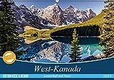 West-Kanada (Wandkalender 2019 DIN A2 quer): Faszinierende Aufnahmen der überwältigenden Landschaft im Westen Kanadas (M